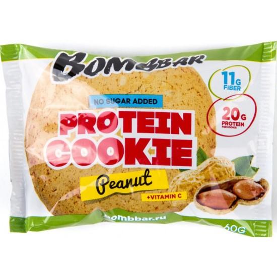 BOMBBAR Протеиновое печенье 60г, Арахис