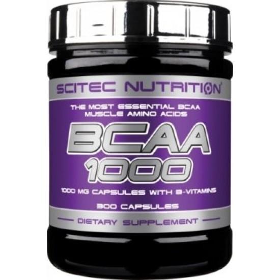 SCITEC BCAA 1000 300 капс