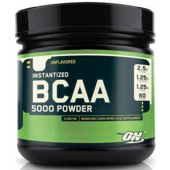 OPTIMUM NUTRITION BCAA 5000 Powder 380 г, Фруктовый пунш