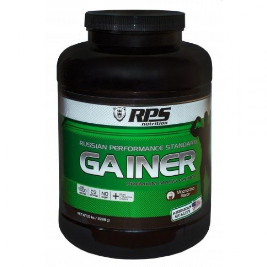 RPS Mass Gainer (Банка) 2,27 кг, Мокачино