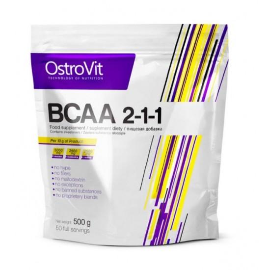OstroVit Extra Pure BCAA 2:1:1 (500г)