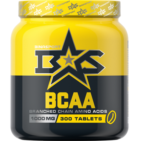 BINASPORT BCAA Tabs 1000мг (300 таблеток)