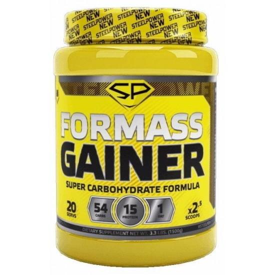 STEEL POWER FOR MASS GAINER 1,5кг, Клубника со сливками