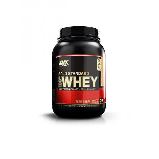 OPTIMUM NUTRITION Whey Protein Gold Standard 908 г, Ванильное мороженое