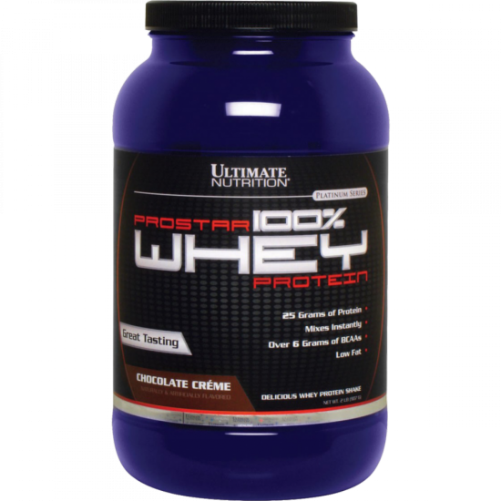 ULTIMATE Prostar Whey 2,27 кг, Клубника